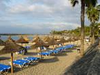 Пляж. Плая де Лас Америкас.