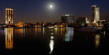 Лунным вечером на набережной Нила.