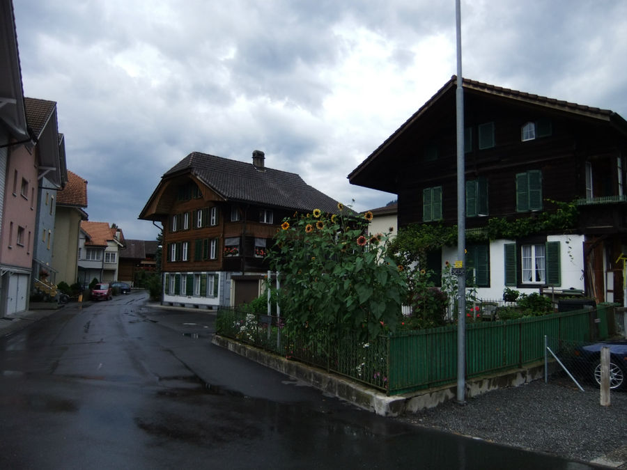 Старый город. Дома жителей