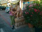 Памятник свинье в Пескьере