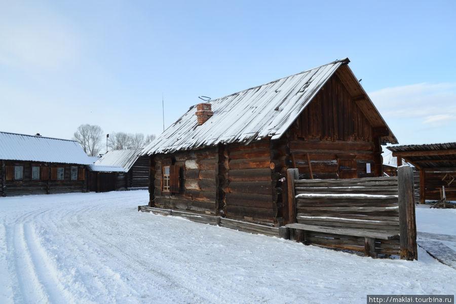 Дом бедного крестьянина.