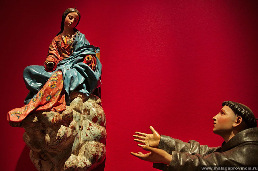 Явление Св. Девы Св. Антонию из Падуи, Педро де Мена, 1675 г.