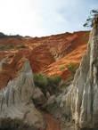Цветные песчаные каньоны