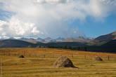 Южно-Чуйский хребет со дворе турбазы