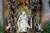 Св. Иосиф. Скульптура Й. Й. Кристиана.