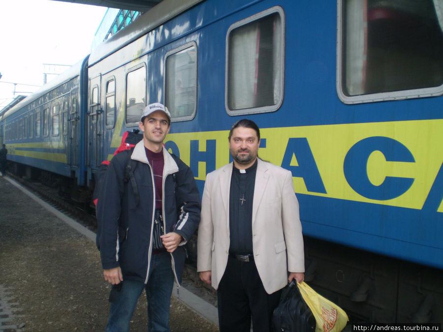 С пастором пятидесятнической церкви ехал в поезде