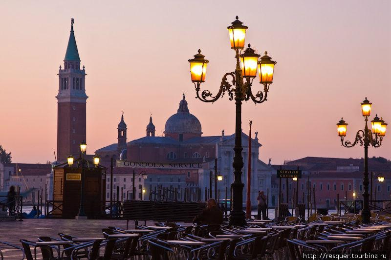 Венеция без туристов, рас