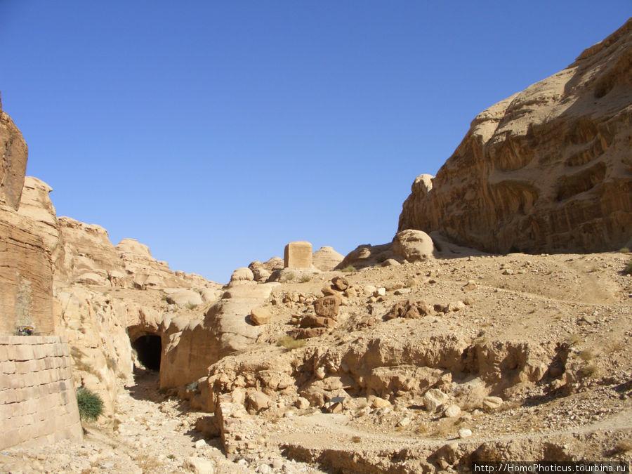 Путь к сокровищнице Петра, Иордания