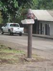 Указатель с наименованием улицы