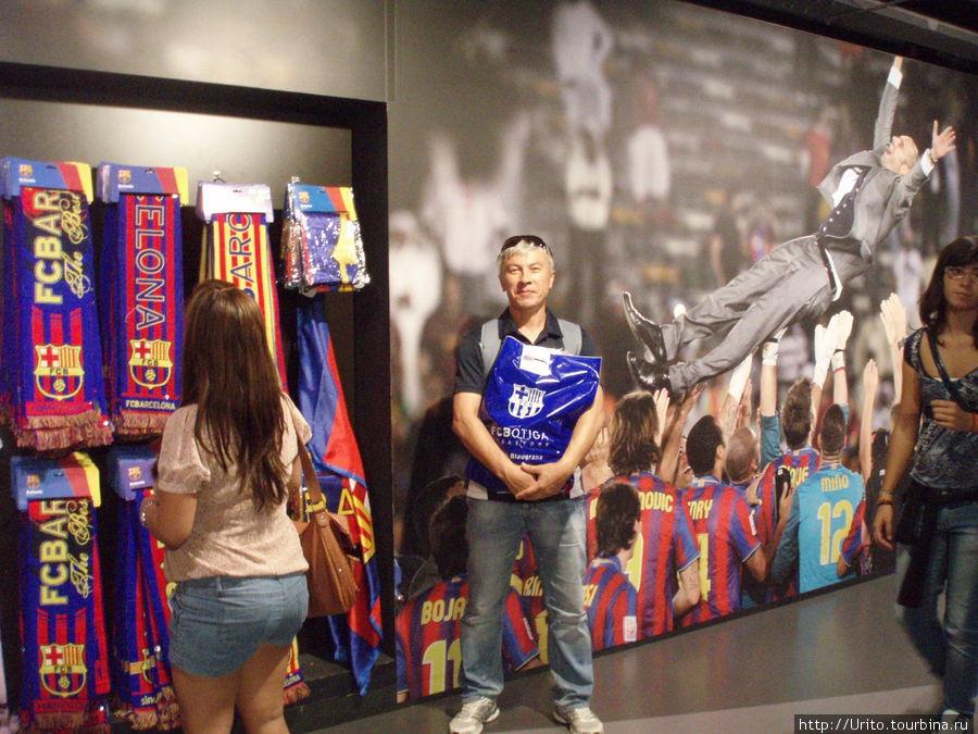 В магазине ФК Барселона