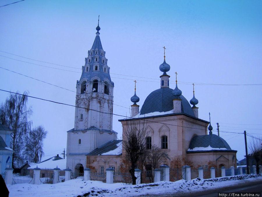 Церковь Василия Великого в Рыбной слободе
