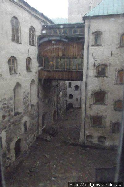 Башни замка Турку соединены множеством переходов