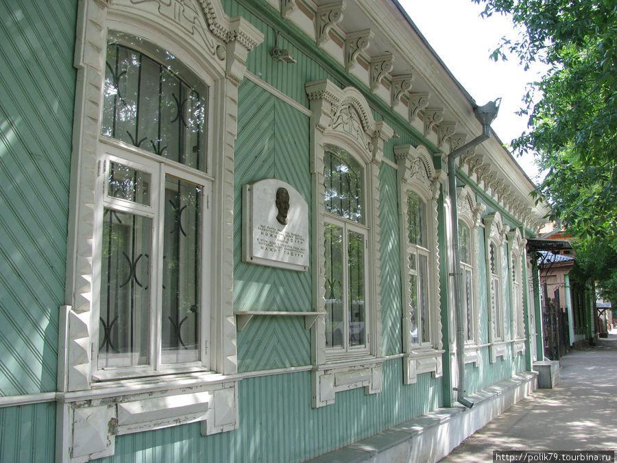Мажит Гафури — народный поэт Башкирии. Здание мемориального дома-музея.