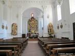 Интерьер костела  Рождества Пресвятой Девы Марии.