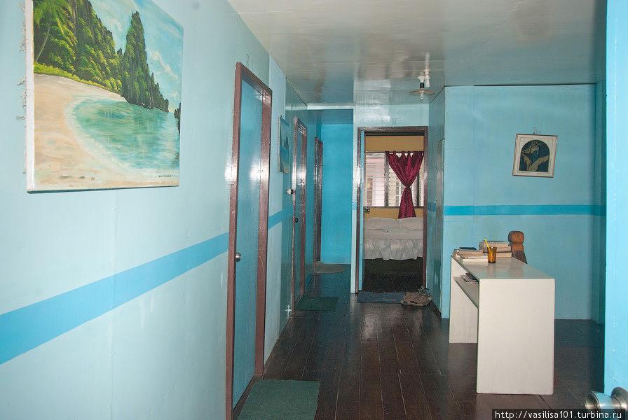 Общий коридор на втором этаже