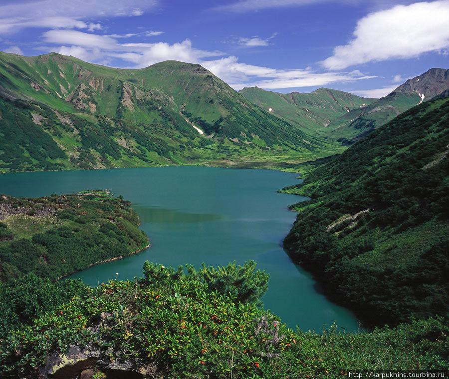 Озеро Дальнее. Вид сверху с юго-восточной стороны.