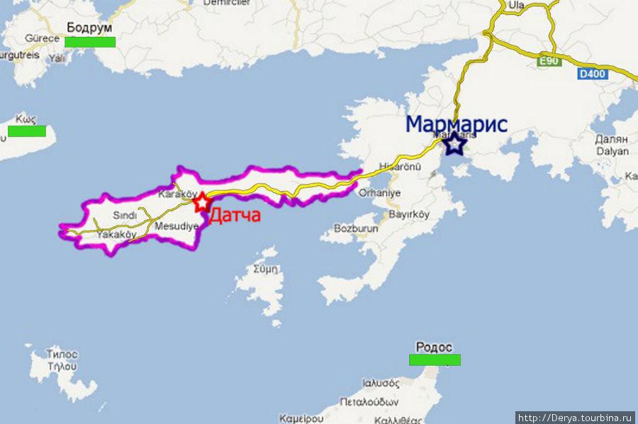 Дорога на Датчу  - божественный  путь, ведущий в город души! Датча, Турция
