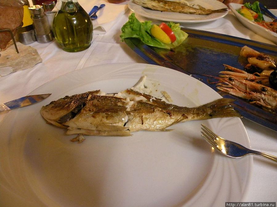 Рыбка из ассорти