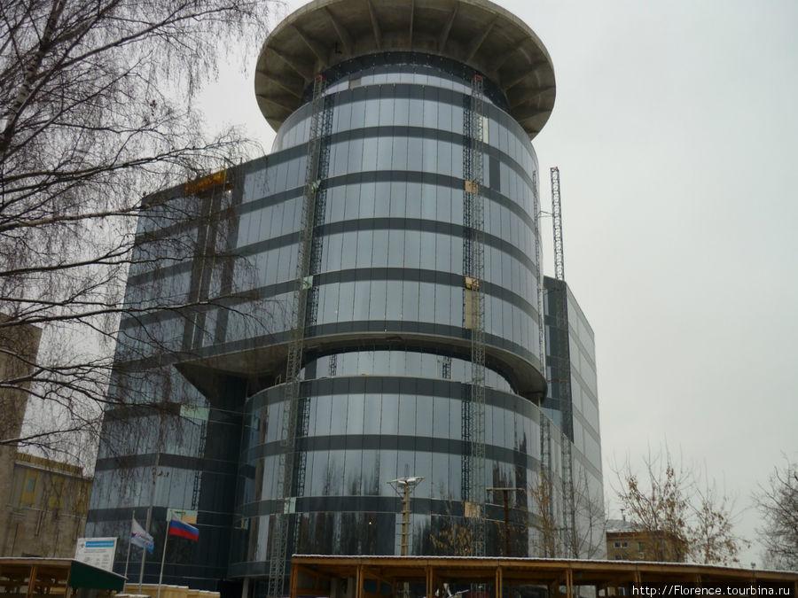 Новое здание Центра управления полетами