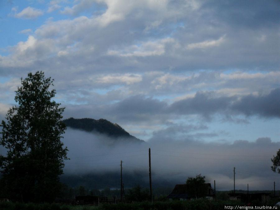 Утро в Уймонской долине.