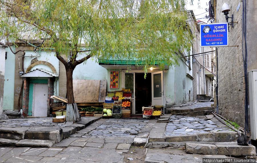 Баку - город ветров, огней и контрастов Баку, Азербайджан