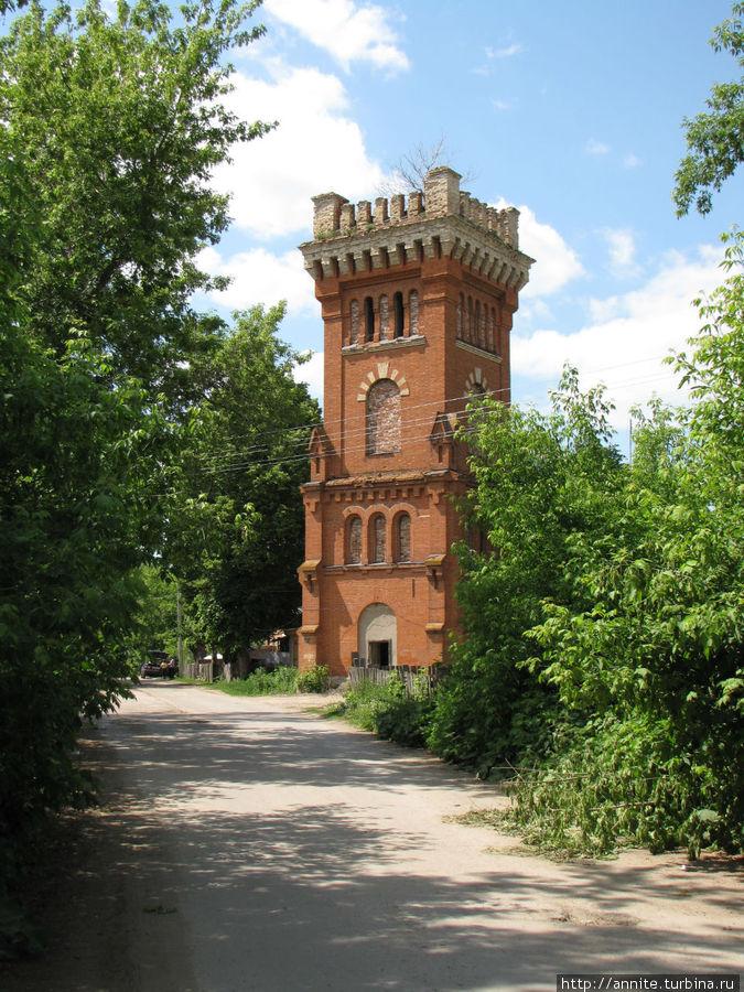 Здание водонапорной башни Старожилово, Россия