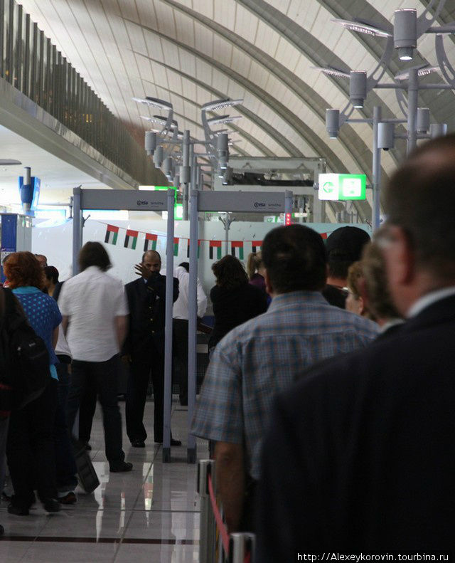 Транзитная зона Дубайского аэропорта