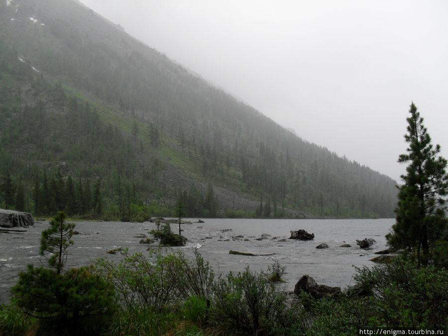 Среднее или 2-е Мультинское озеро.