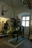 Экспозиция музея средневекового быта