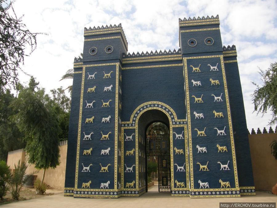 какие ворота носят имя богини иштар