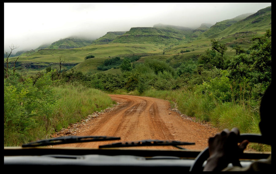 После европейских дорог в ЮАР, эта дорога была сильным контрастом.