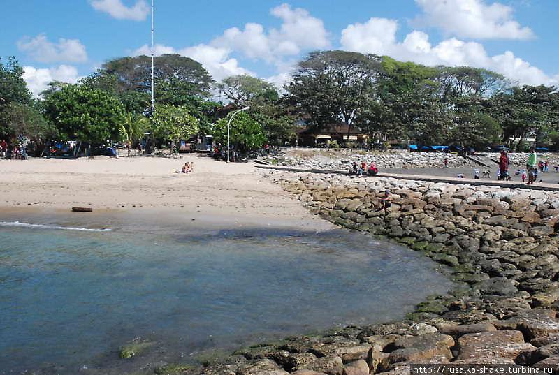 Пляжи Санура Санур, Индонезия