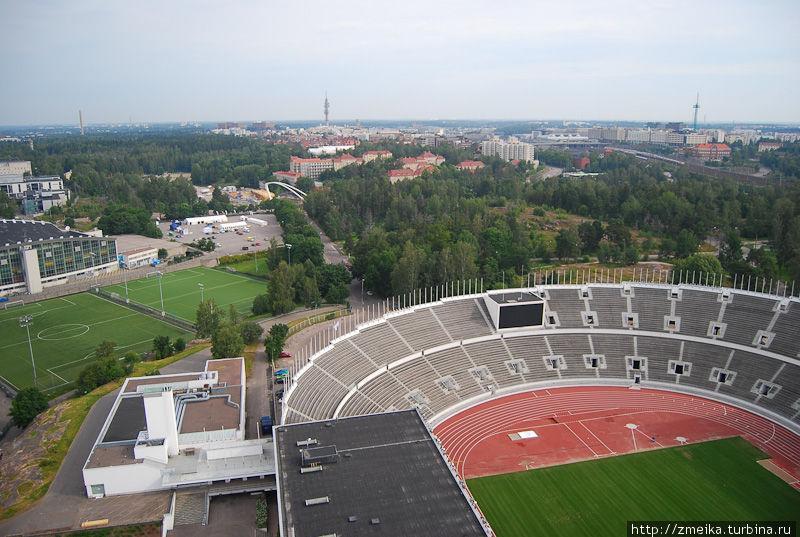 Кусочек стадиона