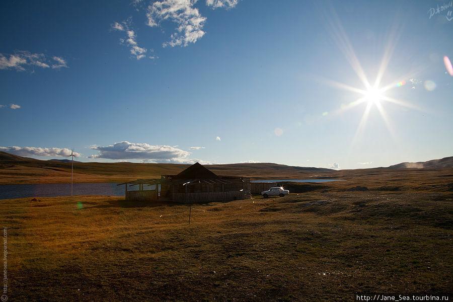 Тархатинское озеро. Подозреваю, оно уже