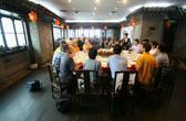Торжественный обед с представителями администрации города.