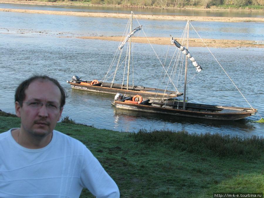 Прогулочные лодки Луары