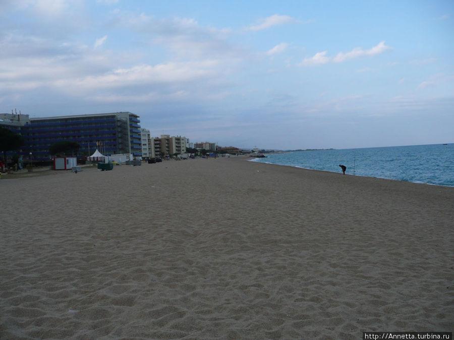 Муниципальный пляж.