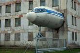 Одна из местных достопримечательностей. Авиация раньше активно участвовала в освоении края.