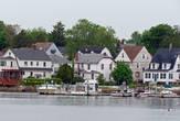 Застройка городка Новой Англии