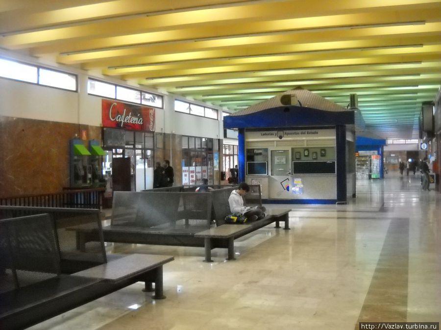 Центральный холл автовокзала