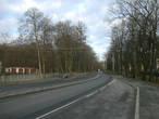 Калининградское шоссе, вид в сторону Полесска