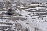 В некоторых местах советский асфальт кончился и началась суровая таджикская реальность