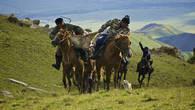 Кокпар известен у многих азиатских кочевых народов с древних времен. Это одна из самых популярных национальных казахских игр. Умение уверенно чувствовать себя в седле было жизненной необходимостью степных воинов. В перерывах между набегами и битвами с завоевателями, казахские батыры поддерживали свою силу и сноровку в лихих конных забавах, таких как кокпар.