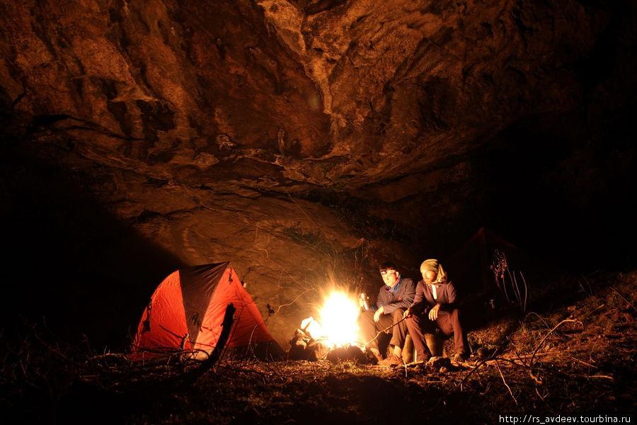 Очередная ночь в палатках
