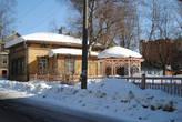 Жилой дом по улице Кирова, сохранилась даже беседка конца 19 века.