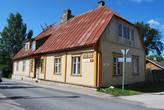 Домик, в котором жил Петр Великий в 1715 году