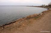 Хаджибеевский лиман в Усатово. Здесь обычно ловят рыбу, но иногда и купаются.