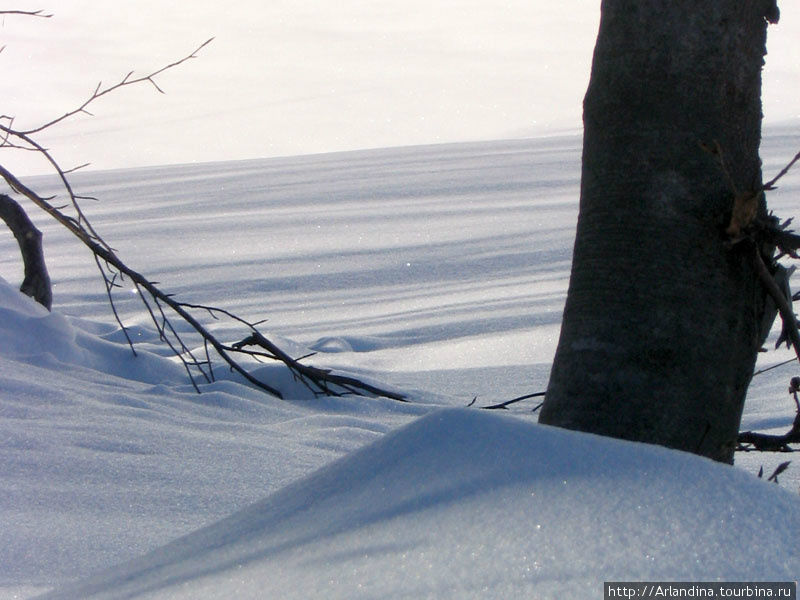 сыпучий снег