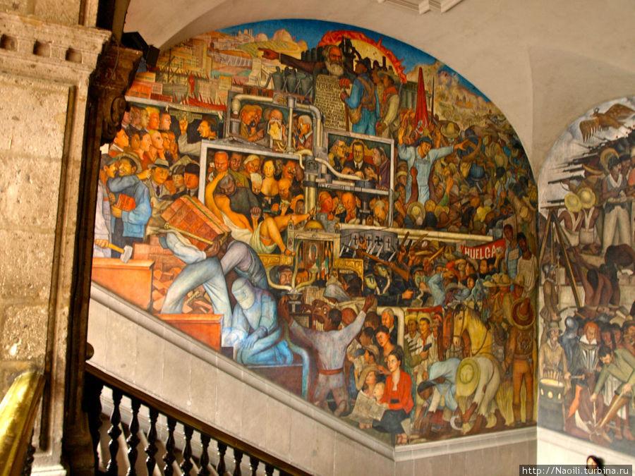 Светлое будущее науки и социализма; так популярного в 40-е годы в Мексике