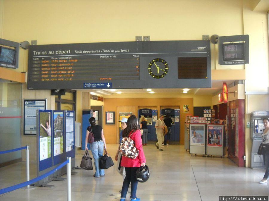 Главный зал вокзала